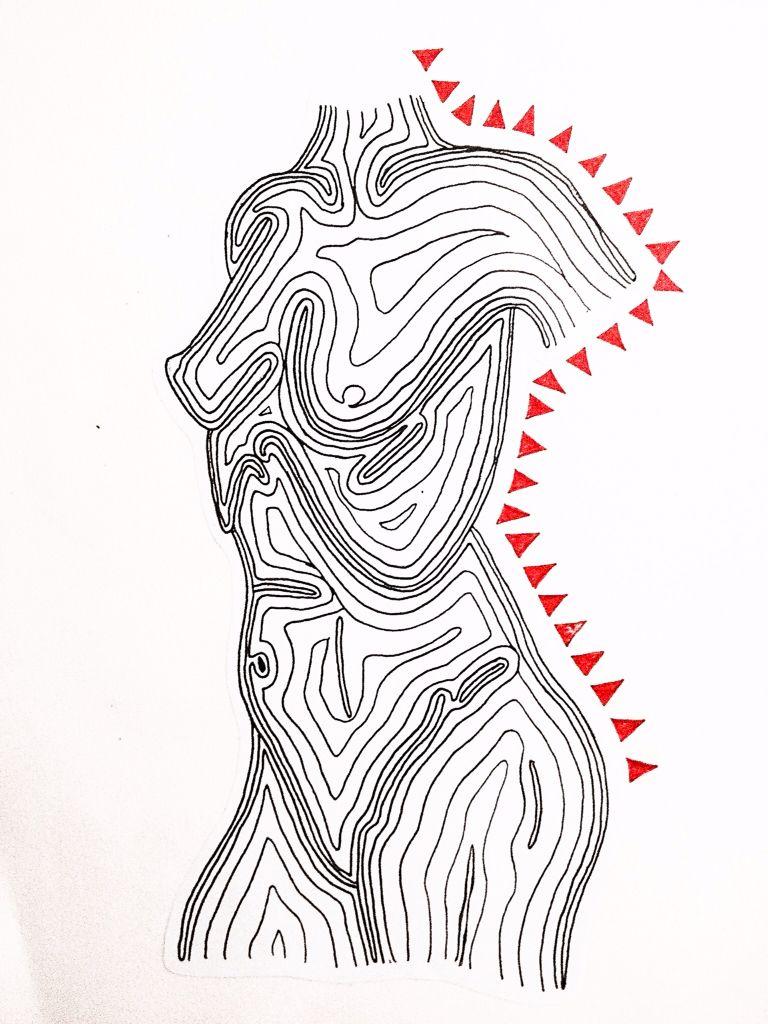 Illustration 'isobody' by Keira Brady