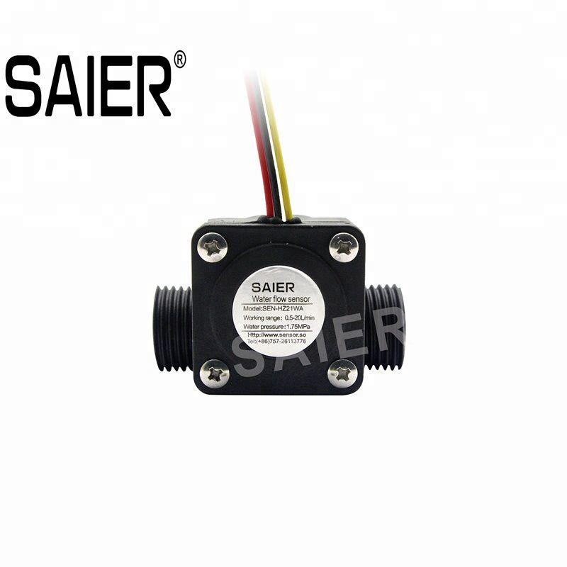 Saier Flow Sensor Product Files 上的釘圖