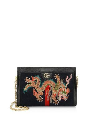 bf74521ef44d GUCCI Small Dragon Suede Clutch. #gucci #bags #patent #clutch #shoulder  bags #suede #lining #hand bags #silk #