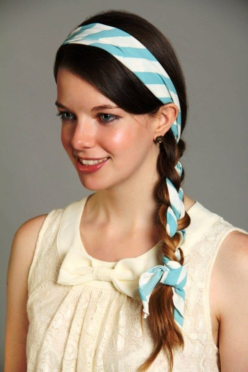 21+ Medium length hairstyles with headbands ideas