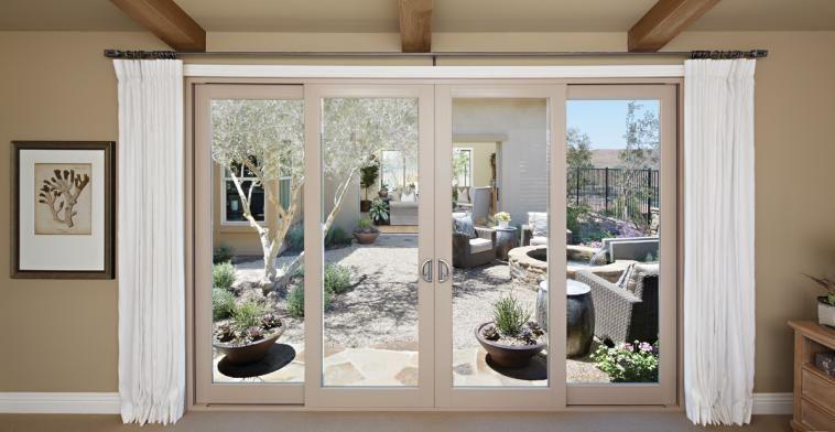 Montecito Series Vinyl Patio Doors Milgard Windows Doors