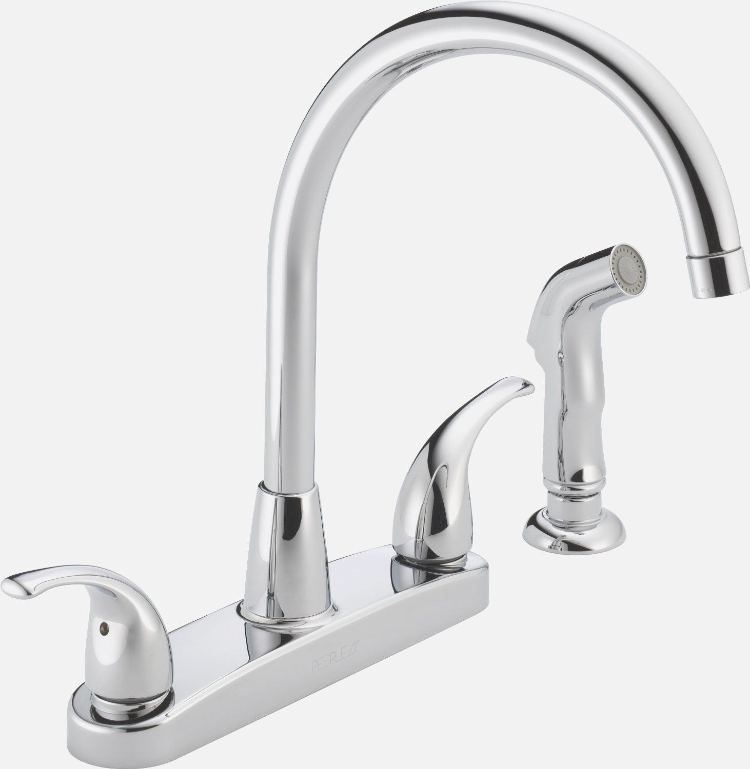 Kitchen Sink Faucets at Lowes - delta kitchen sink faucets lowes ...