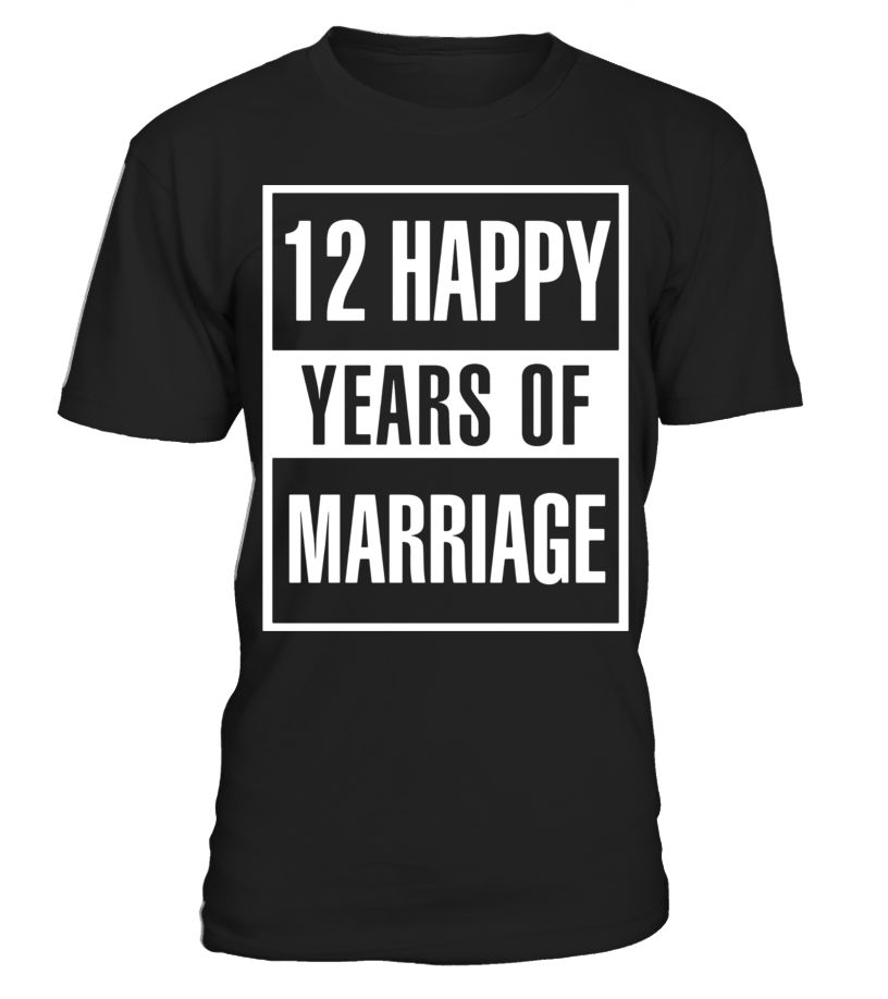 12th wedding anniversary gift idea husband and wife t