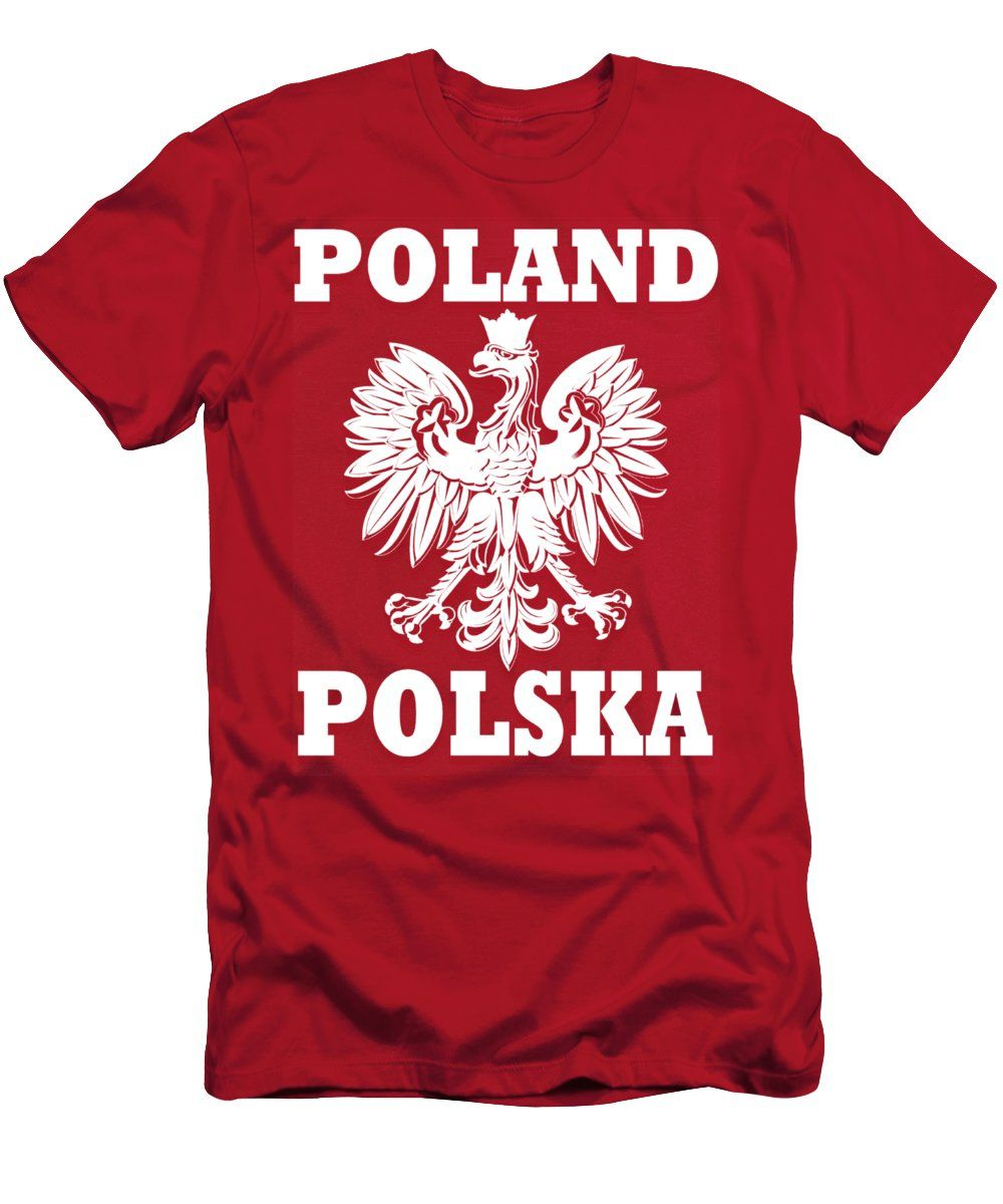 Coat Of Arms Of Poland Men S T Shirt Athletic Fit Featuring The