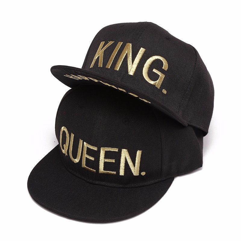 The King   Queen Snapbacks from The Pink Room are fit for a royal couple  such as you and your boo. Item Type  Baseball Caps Department Name  Adult  Gender  ... 9f7590228ec2