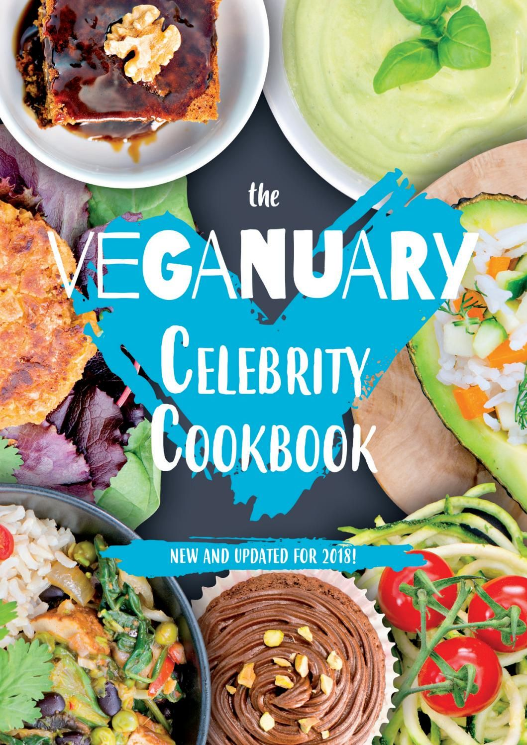 Veganuary Celebrity Cookbook 2018 | Celebrity
