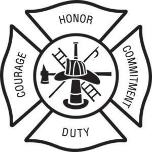 Firefighter Maltese Cross Vector Art -  maltese cross vector art & x0026;middot; fire department