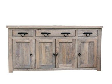Bristow Buffet BNGWONB000ST BL Mango Wood With Grey Wash
