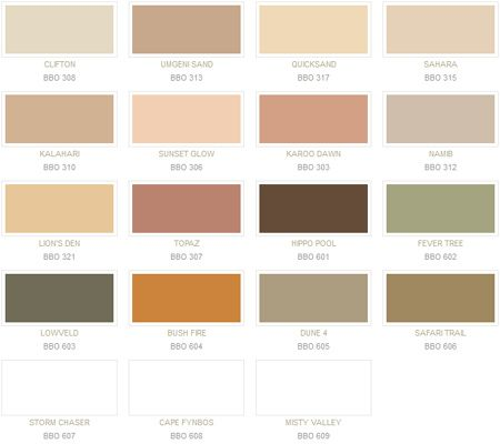 Shades Of Brown Paint On Walls Charlene And Her Husband Transformed Their House Exterior With Plascon