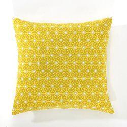 housse coussin jaune Housse de coussin, Lozange La Redoute Interieurs | Tissus et  housse coussin jaune