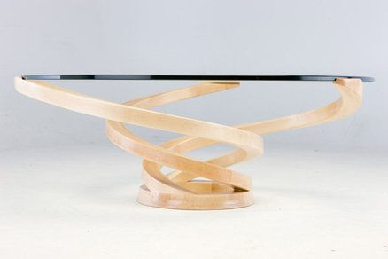 Bent Lamination Coffee Table By Justin...Awesome