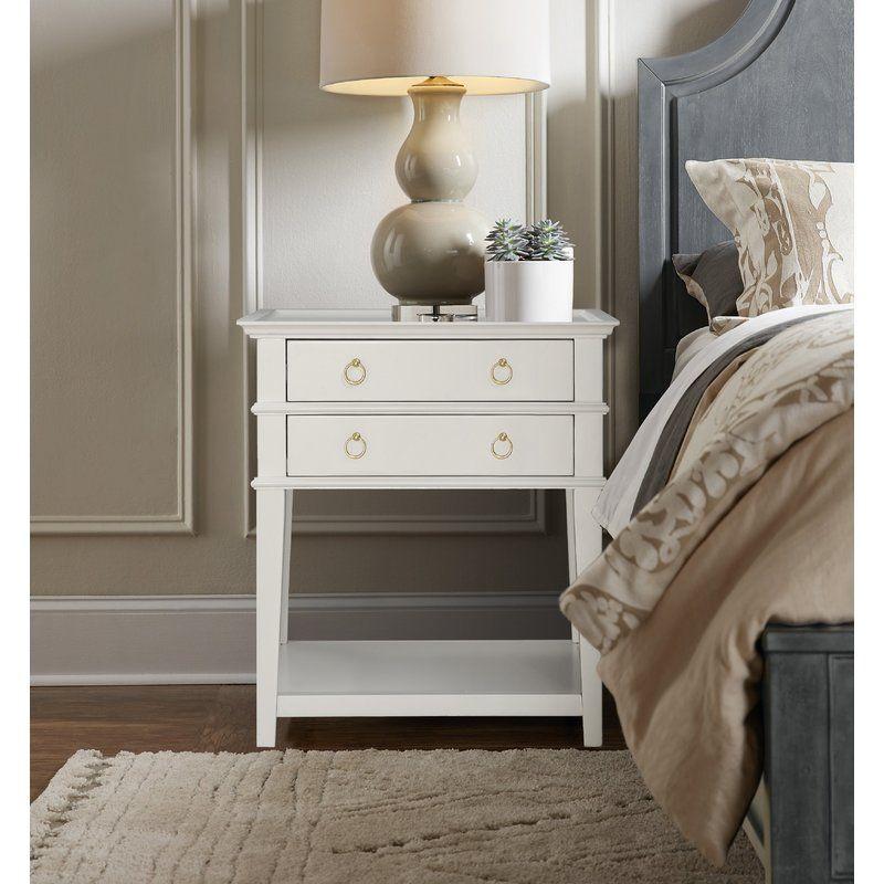 Master Bedroom Staging Ideas: Neufeld 2 Drawer Nightstand