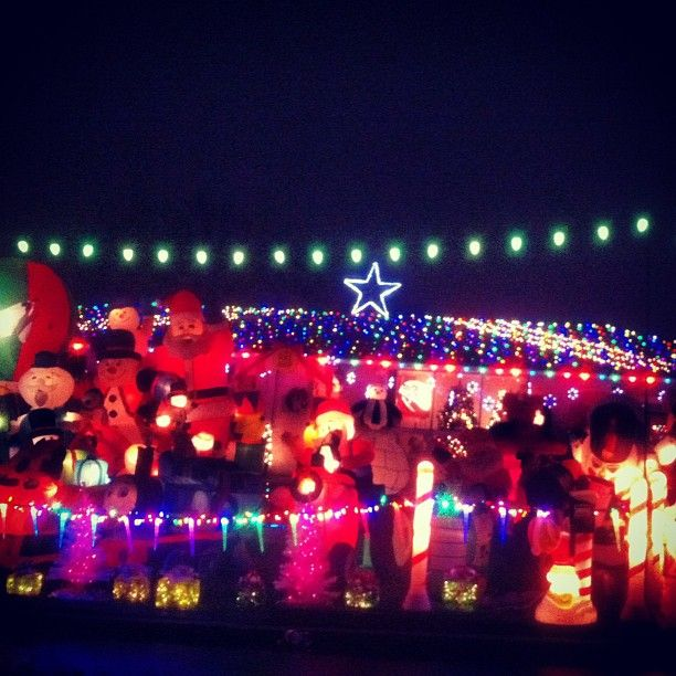 Crazy Christmas Light Display Lights Pinterest Christmas lights