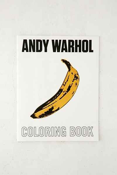 Andy Warhol Coloring Book By Mudpuppy
