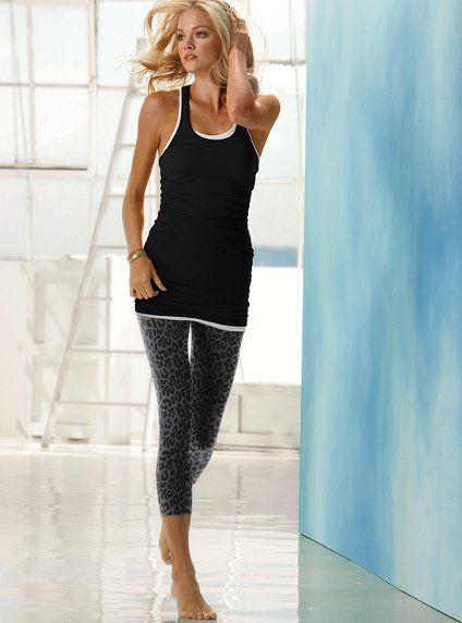 VS Daily Legging - Leopard Print & Grey Zebra, love!