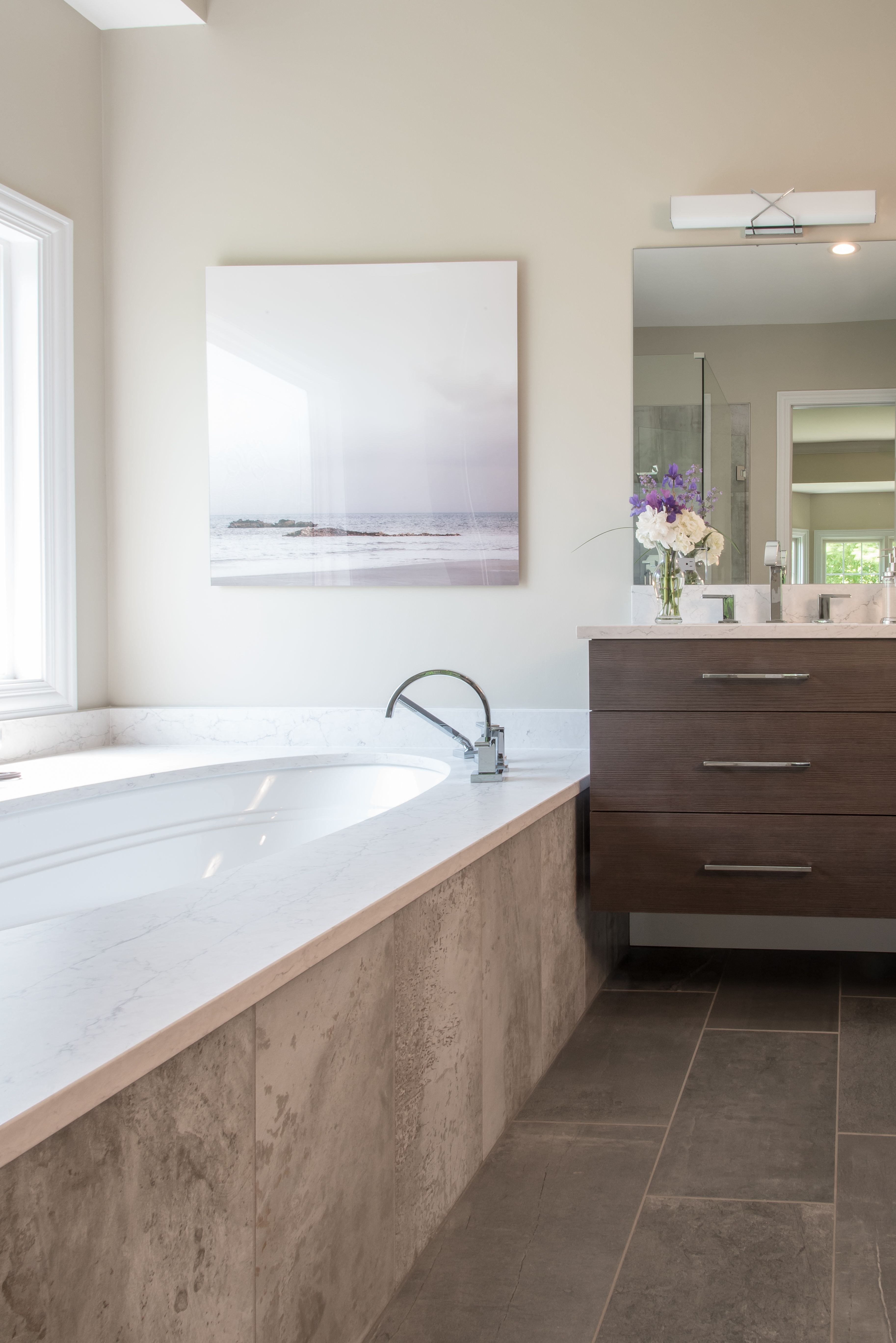 Repin this bathroom for design inspiration this is from our recently completed moore master bath project