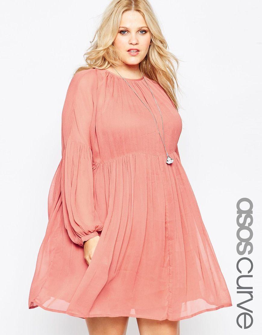 Pretty in pink : http://asos.do/TsQ2w6 | Plus Size Fashion ...