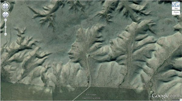 I Was Using Google Earth When I Noticed Something Awesome In Fact