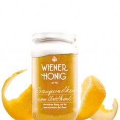 real bees honey with clove and orange Wiener Honig