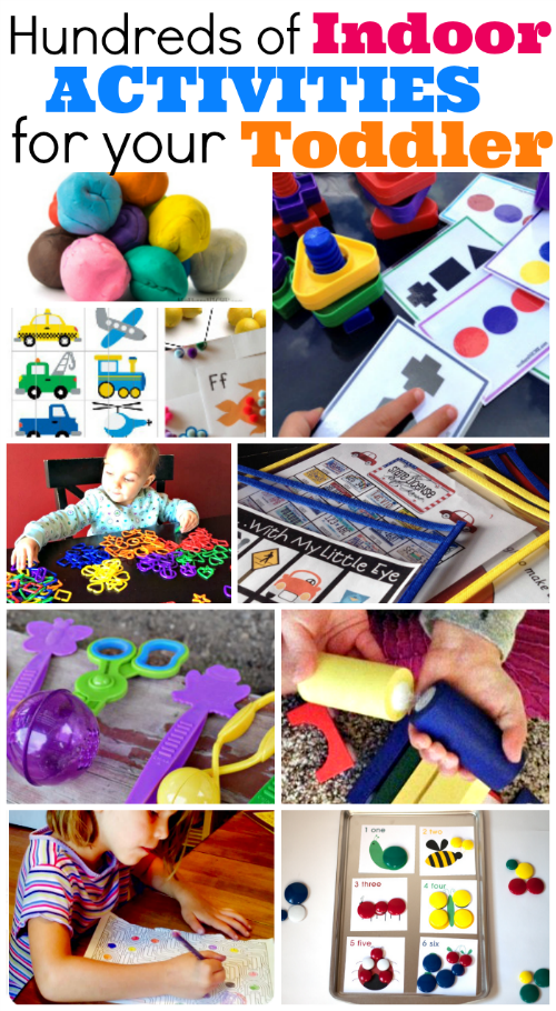 Centenas de atividades para crianças pequenas.