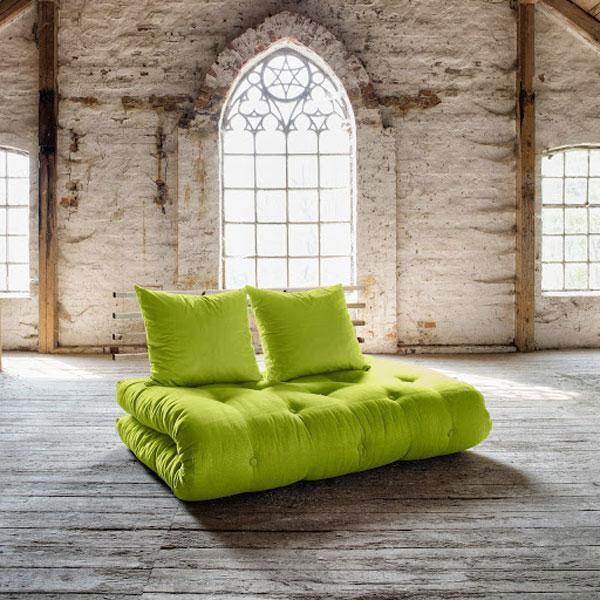 Sof cama shin sano verde pistacho muebles ecol gicos - Sofa verde pistacho ...