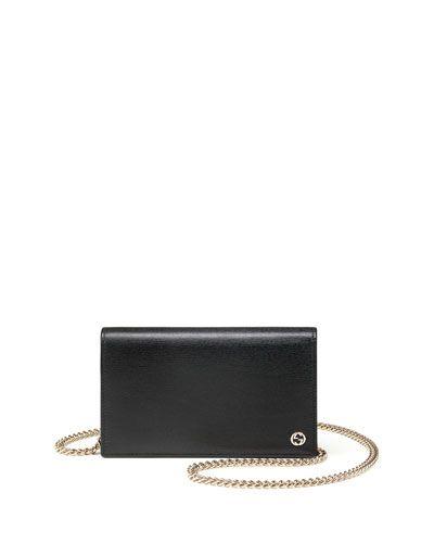 ca89fbe56ad Cute Gucci Betty Leather chain WOC