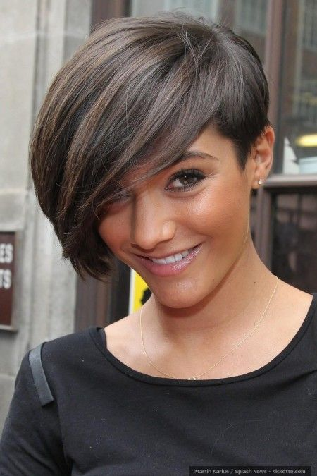 Frankie Sandford Side Swept Bangs Thick Hair Styles Haircut For Thick Hair Hair Styles 2014
