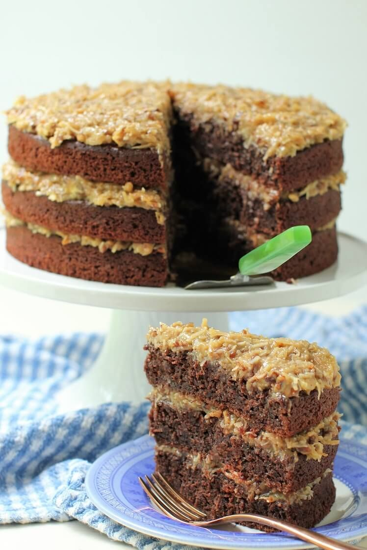German chocolate cake german chocolate cake recipe