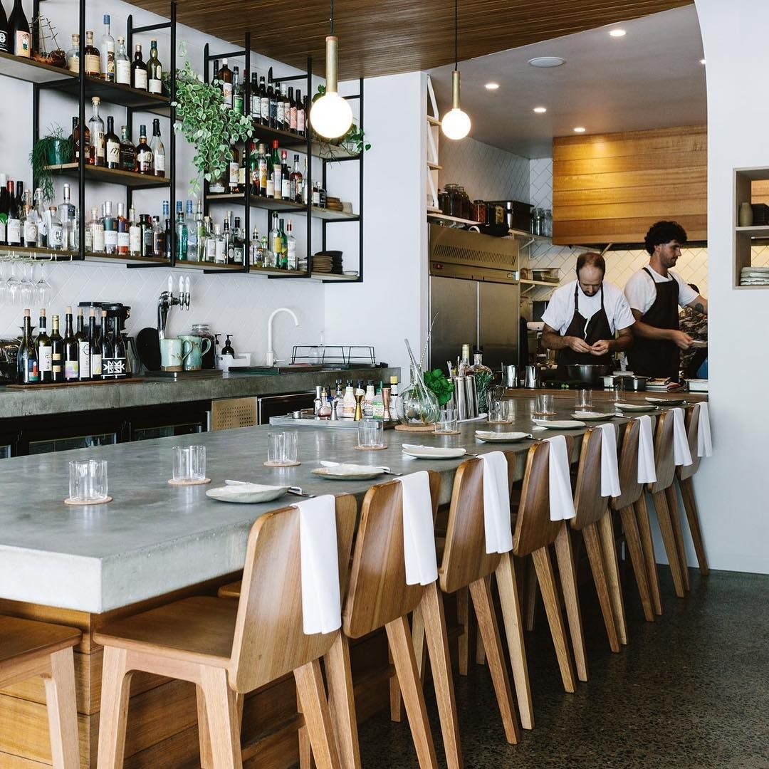 The Tiny 14-seat @fleetrestaurant In Brunswick Heads Was