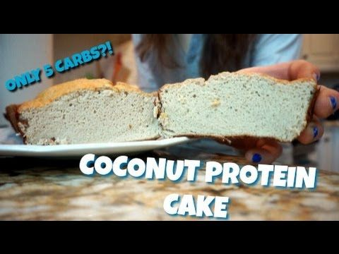 5 Carb Coconut Protein Cake 5.5.2016