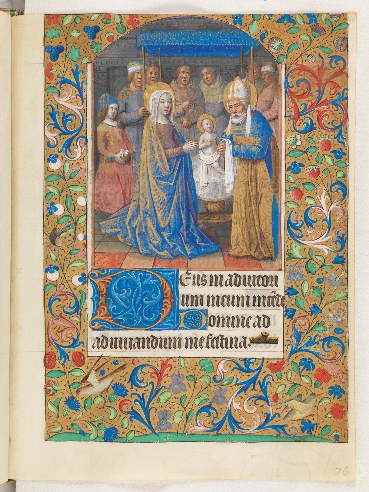 Utopia, armarium codicum bibliophilorum, Cod. 101: Livre d'heures de Paris 1490. (http://www.e-codices.unifr.ch/fr/list/one/utp/0101)