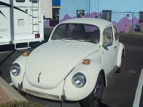 Not quite Herbie, but close: 1971 VOLKSWAGEN SUPERBEETLE | Tucson AZ
