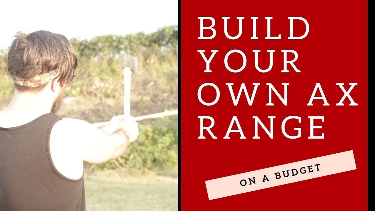 Build your own Axe Throwing Target | Axe, Build your own ...