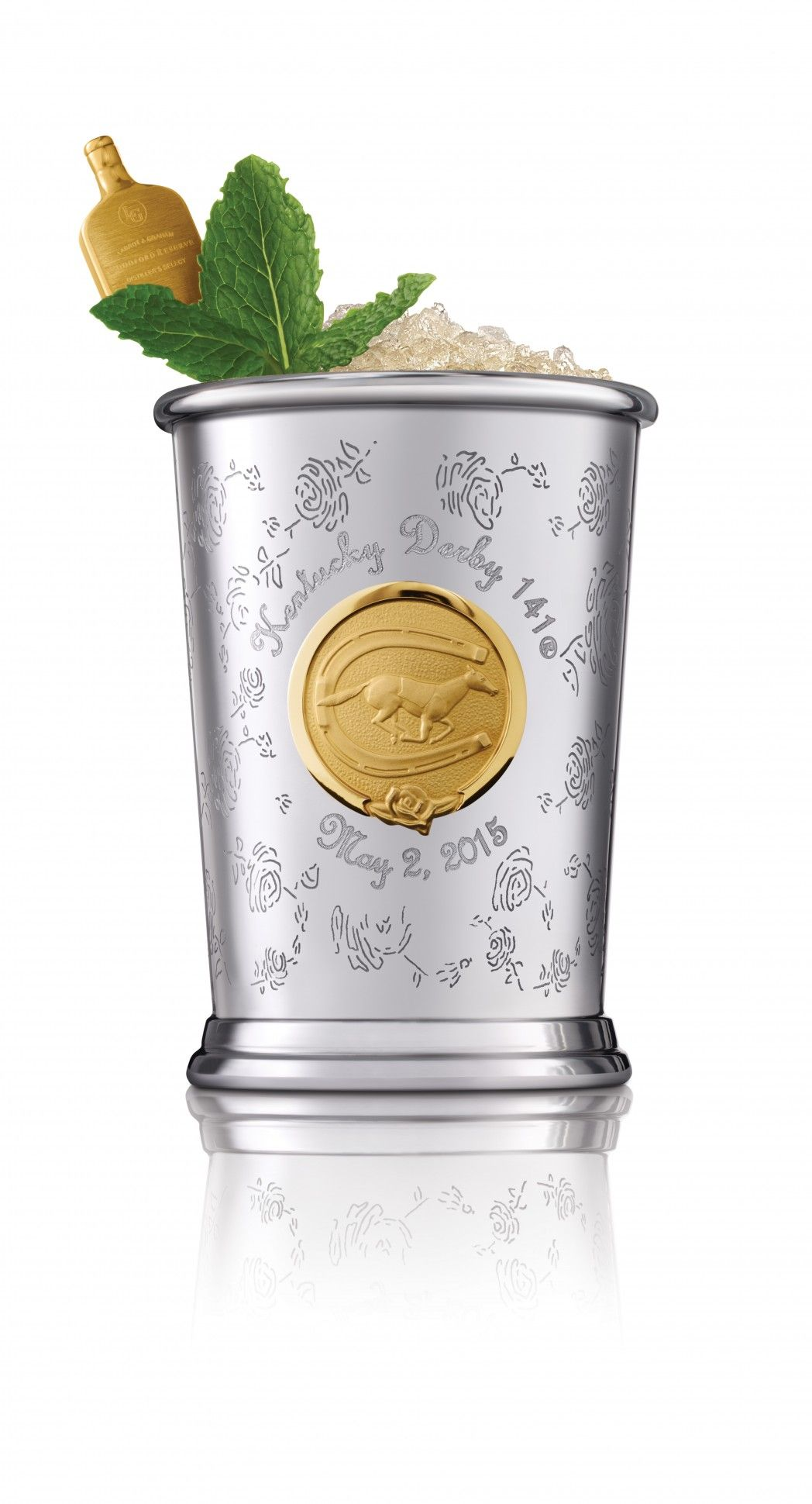 A 1 000 Collector S Cup For The Perfect Kentucky Derby Mint Julep Kentucky Derby Mint Julep Mint Julep Mint Julep Cups