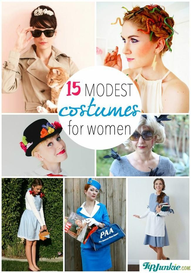 15 modest costumes for women - Modest Womens Halloween Costumes
