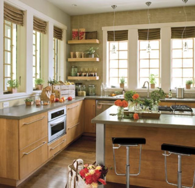 my dream kitchen no upper cabinets all windows with an island kitchens without upper on farmhouse kitchen no upper cabinets id=34122