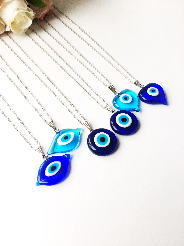 4 pc Evil Protection Blue eye  Jewelry Set