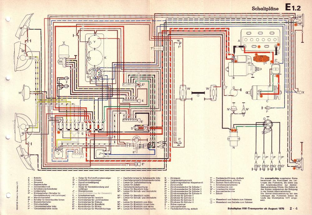 1970 Vw Bus Turn Signal Wiring Google Search In 2020 Golf 1 Vw Golf 1 Electrical Diagram