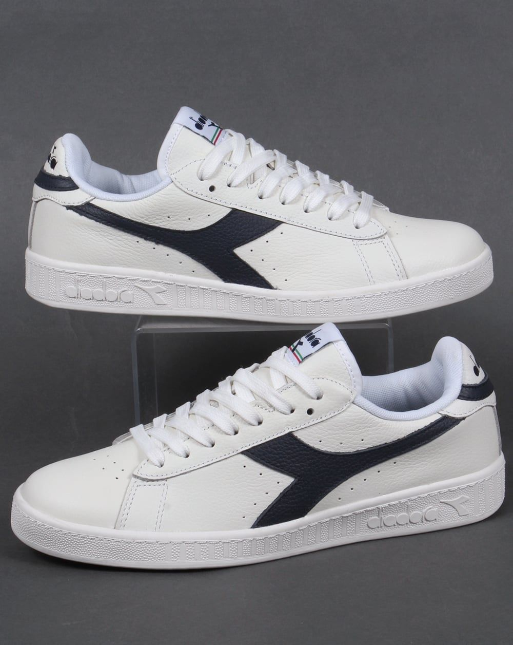 Genuine Online Shop Diadora Game L Low Waxed White Diadora