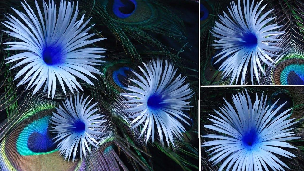 How To Make Paper Flower Paper Flower Making Tutorial Diy Flowers