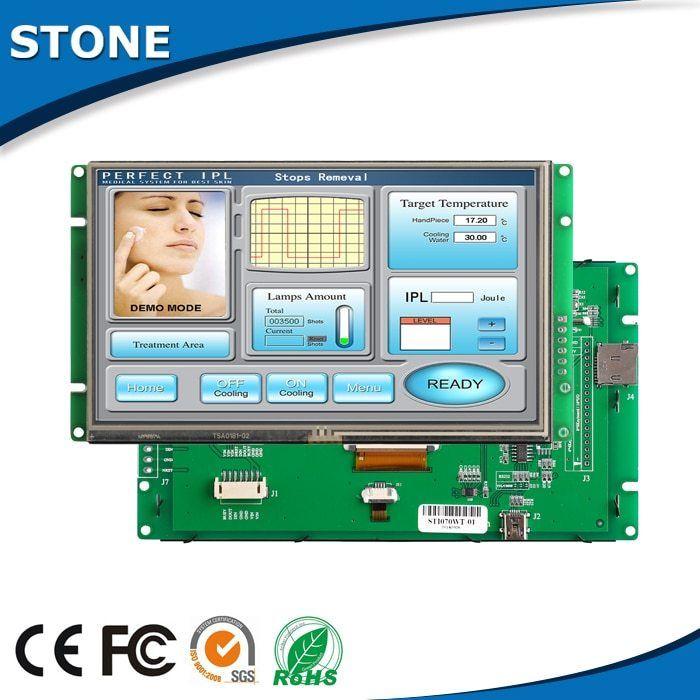 5 Inch STONE HMI Controller Touch Screen LCD Display #touchscreendisplay