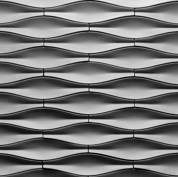 Origami Cast Architectural Concrete Tile   Natural     Cast Concrete Tiles    Inhabitliving.com