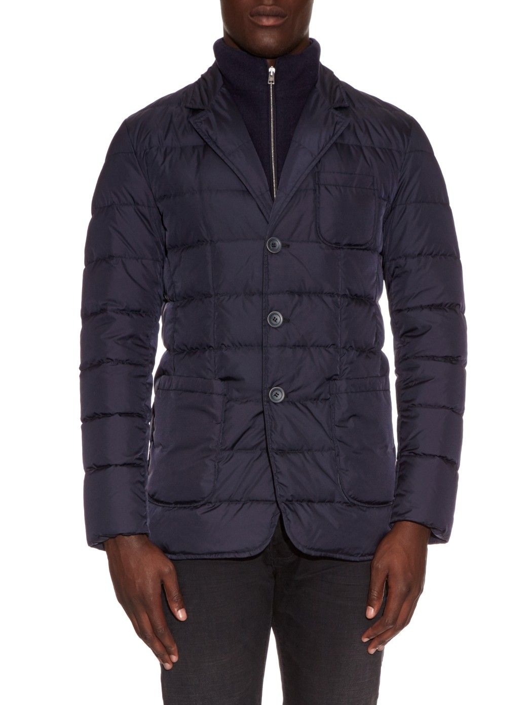 timeless design c694b 93c02 Quilted-down padded jacket | Herno | MATCHESFASHION.COM ...