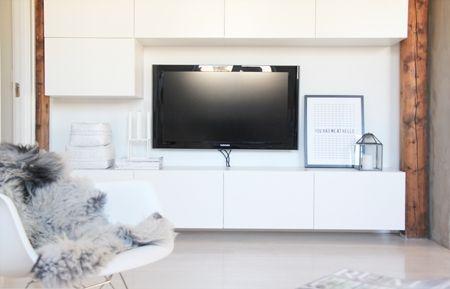 Modern Flat Screen Tv Stands Ideas On Foter Interior Design Living Room Home Living Room Home Decor