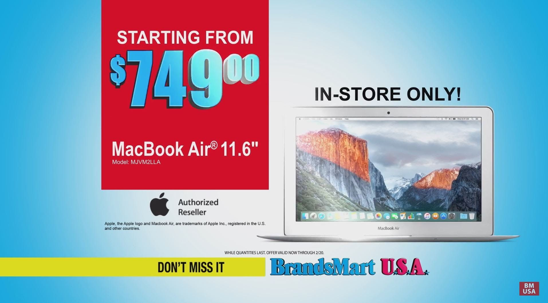 Presidents Day Sale Macbook Air, Stainless Steel