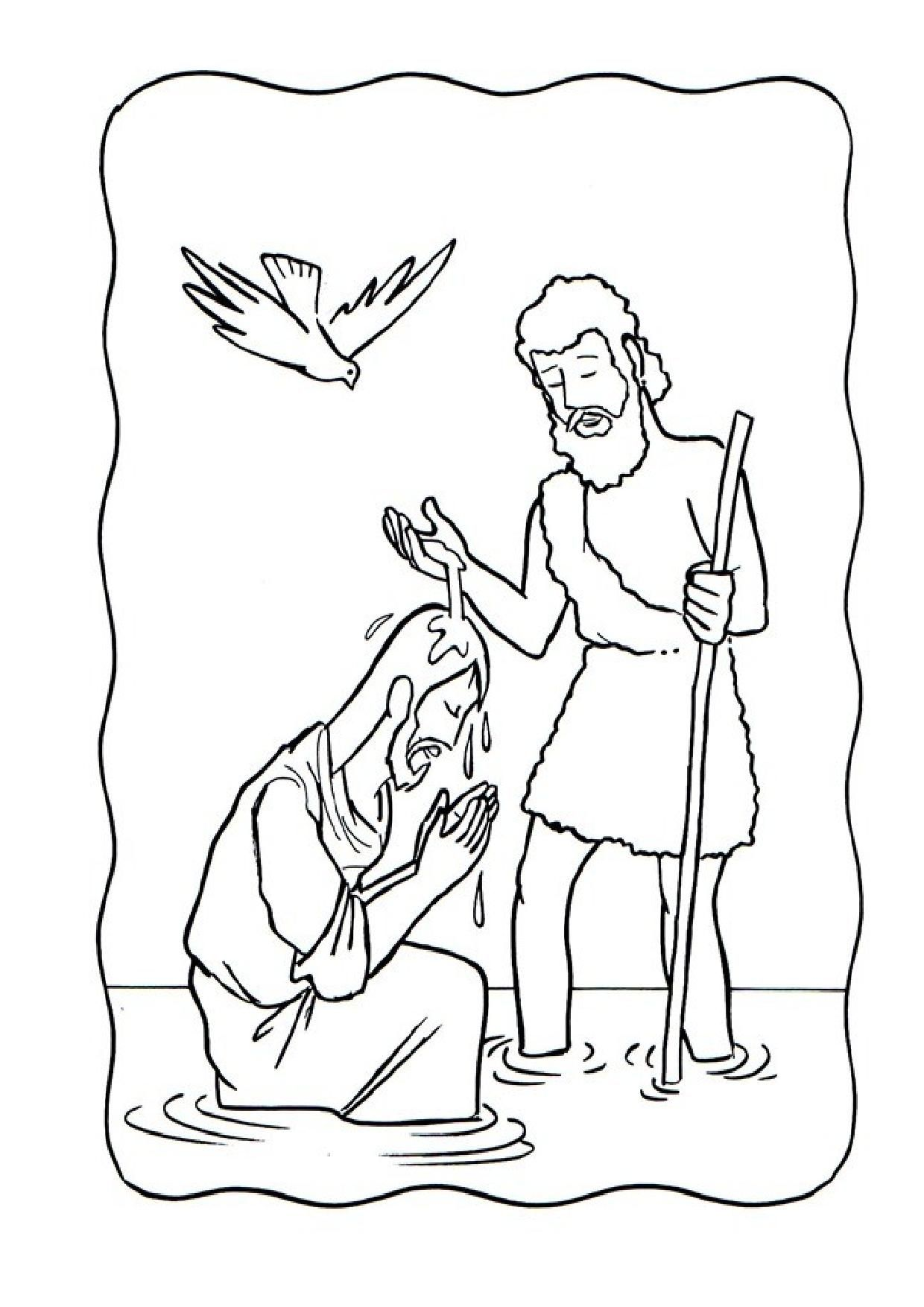 Dibujo San Juan Bautista Buscar Con Google Coloring Pages Christian Coloring Bible Coloring