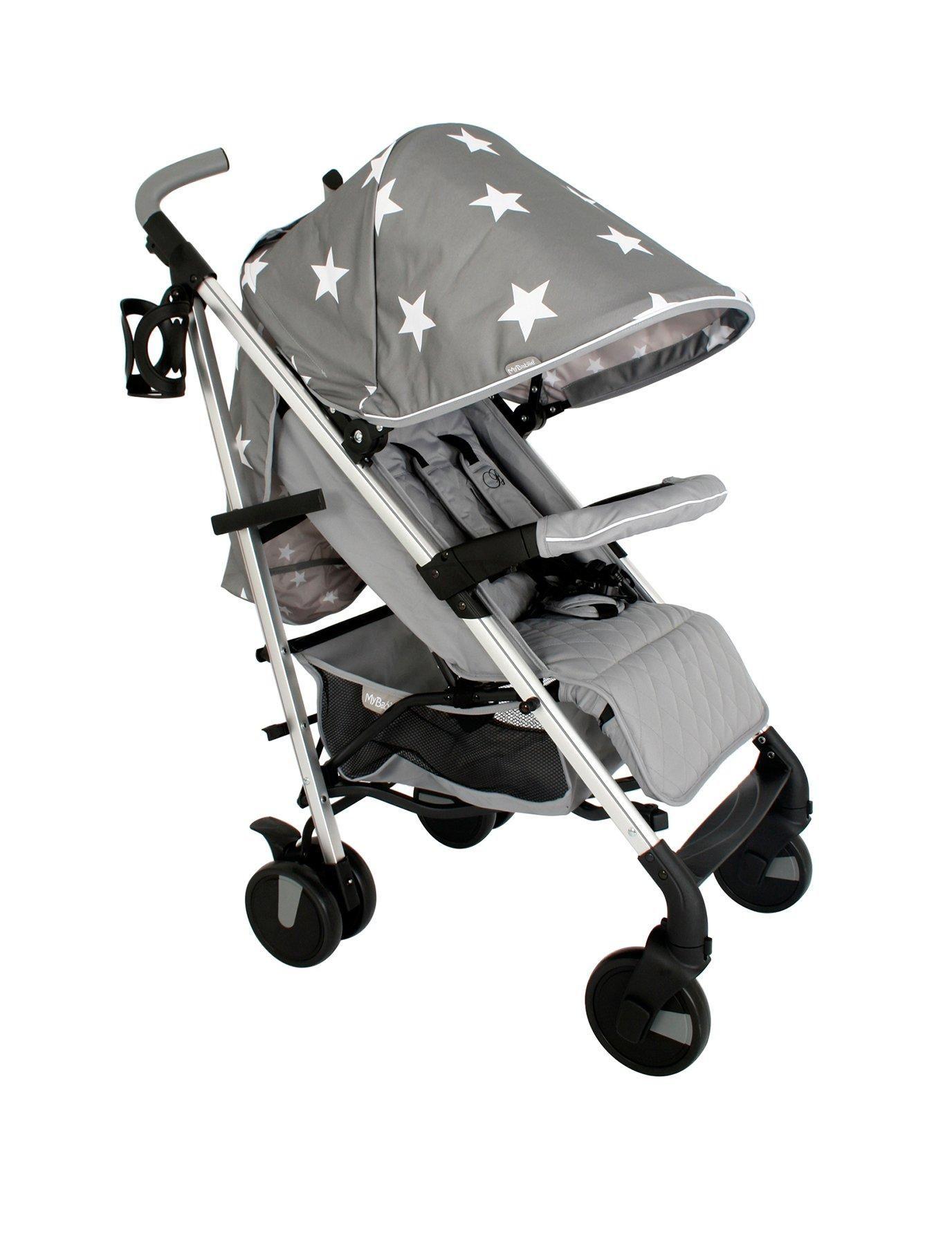 My Babiie My Babiie Billie Faiers Mb51 Grey Stars Stroller
