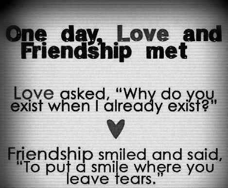 friendship love quotes for her