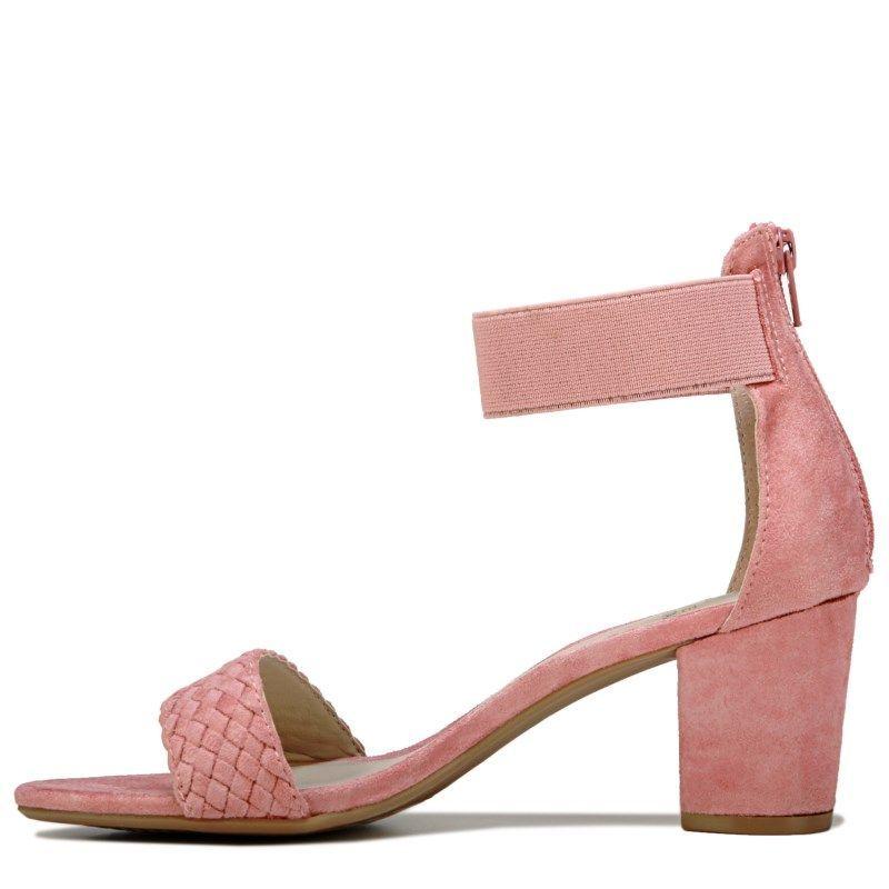7ed578933 White Mountain Women s Eryn Block Heel Dress Sandals (Rose Petal ...