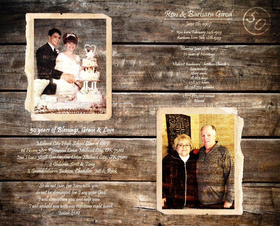 Parents 50th Anniversary Gift Parents Anniversary Gift Custom Gifts